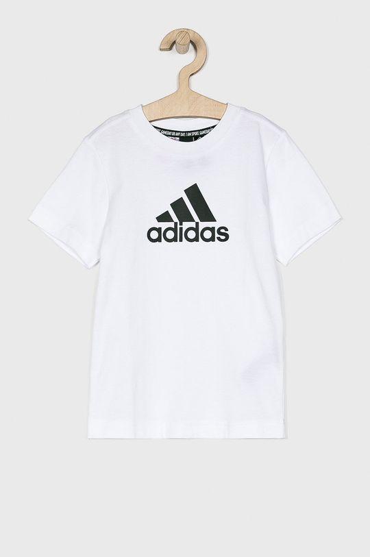 alb adidas Performance - Tricou copii 110-176 cm De băieți