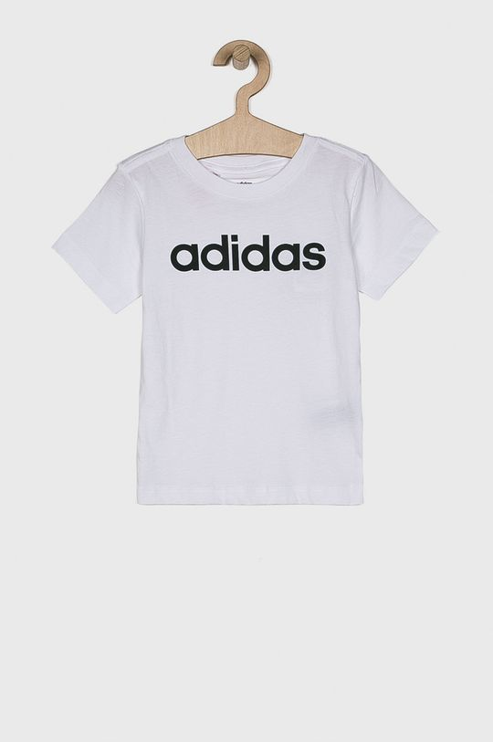 biela adidas Performance - Detské tričko 110-176 cm Chlapčenský