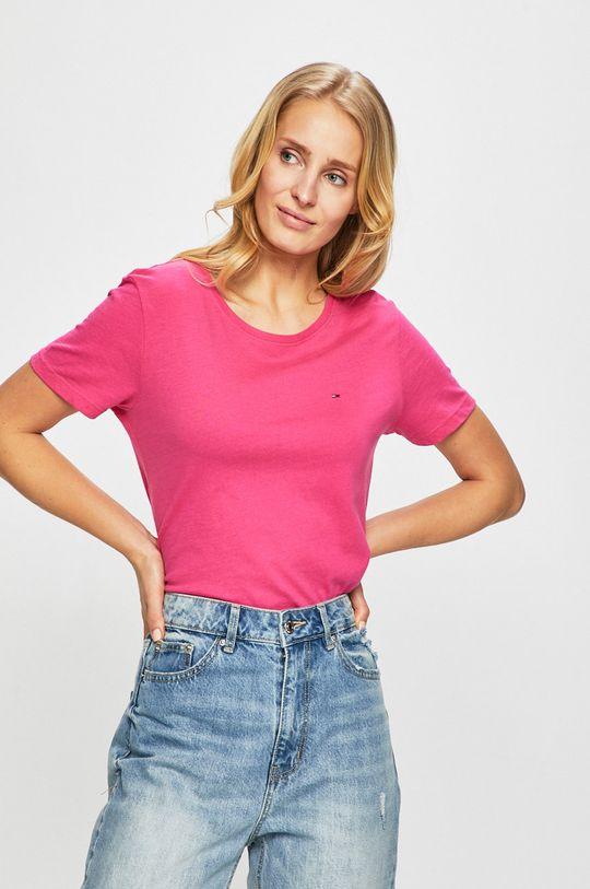 sýto ružová Tommy Jeans - Top Dámsky