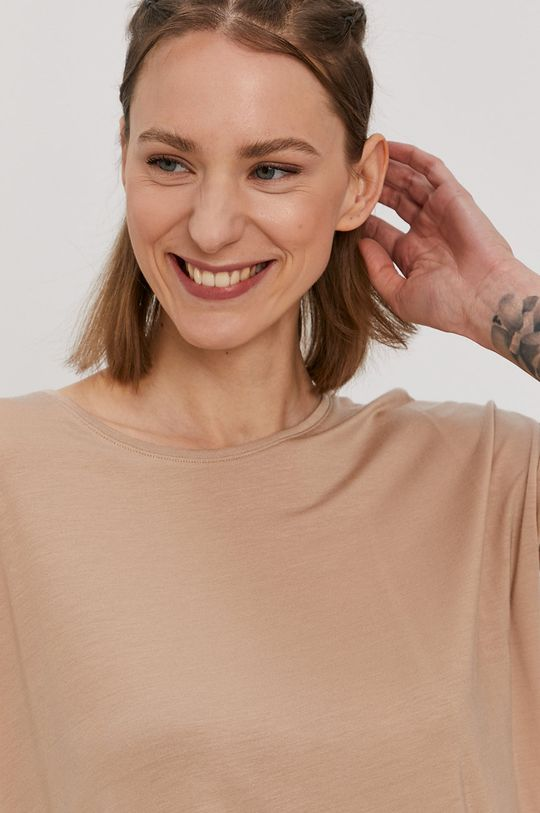 piaskowy Vero Moda - T-shirt