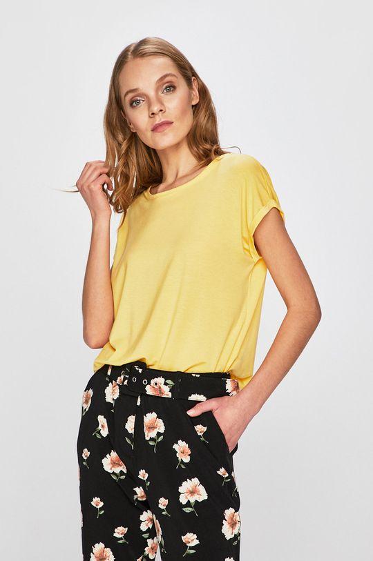 żółty Vero Moda - Top Damski