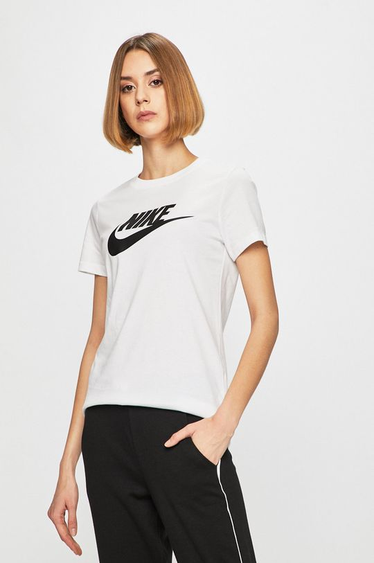 bílá Nike Sportswear - Top Dámský