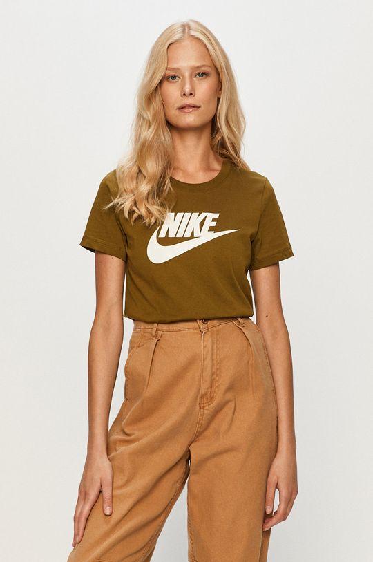 oliwkowy Nike Sportswear - T-shirt