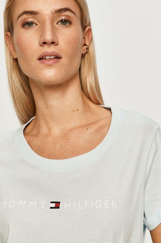 blady niebieski Tommy Hilfiger - T-shirt/polo UW0UW01618