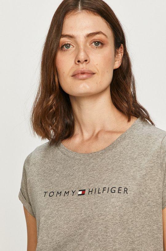 šedá Tommy Hilfiger - Tričko