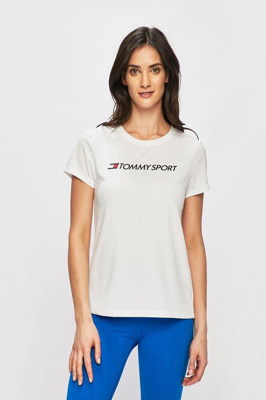 alb Tommy Sport - Top sport De femei