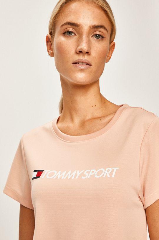 roz murdar Tommy Sport - Top sport De femei