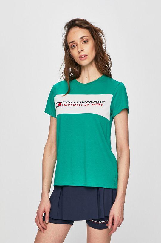 verde ascutit Tommy Sport - Top De femei