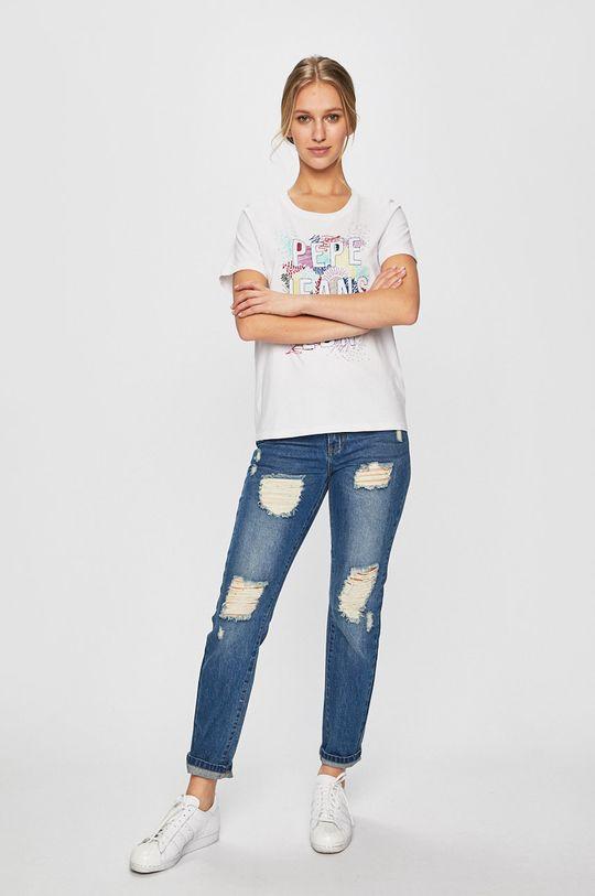 Pepe Jeans - Felső Liza fehér