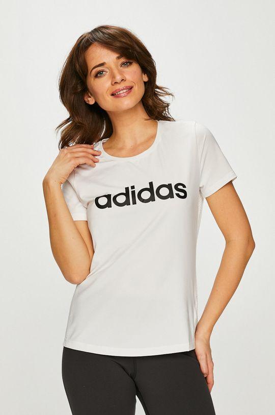 fehér adidas Performance - Top Női