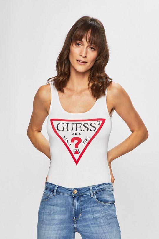 biały Guess Jeans - Top Damski