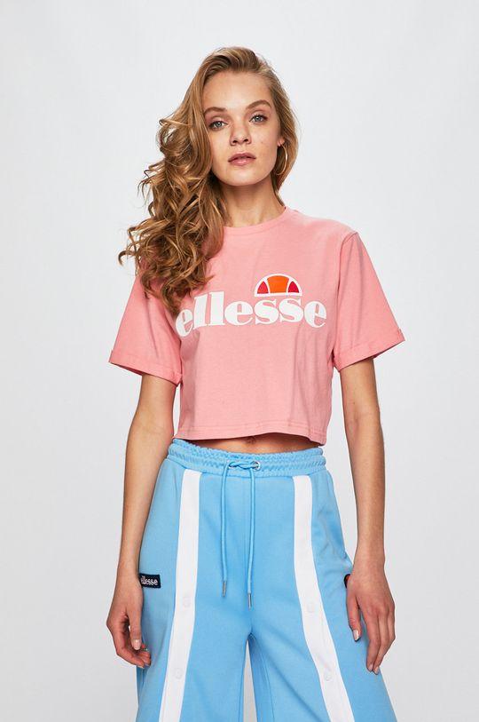 różowy Ellesse - Top