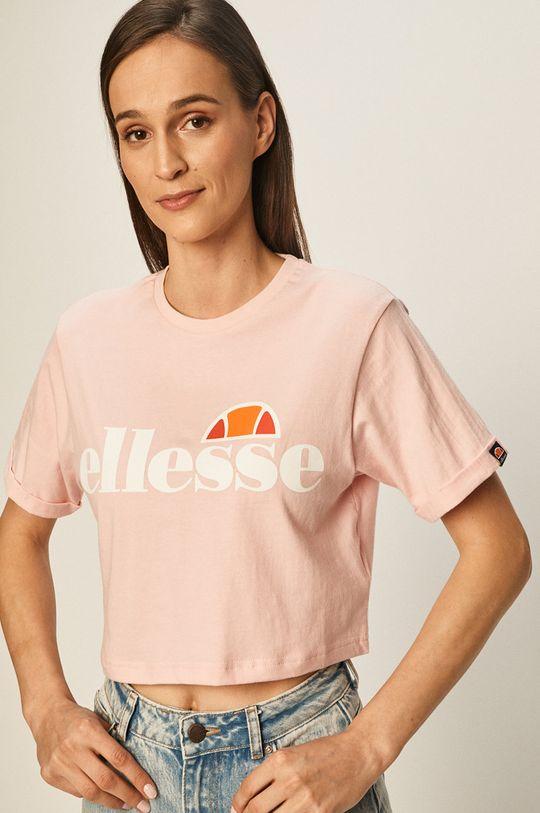 brudny róż Ellesse - T-shirt