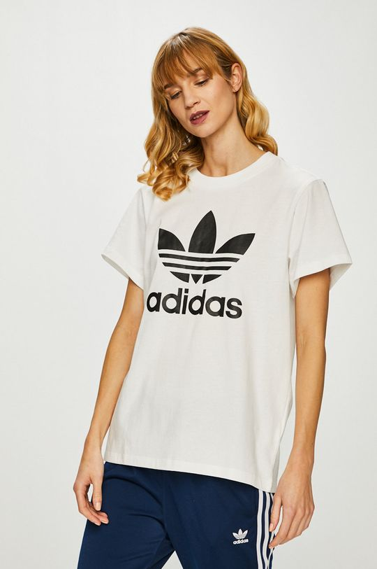 bílá adidas Originals - Top Dámský