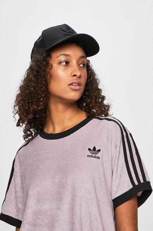 fialová adidas Originals - Top Dámsky