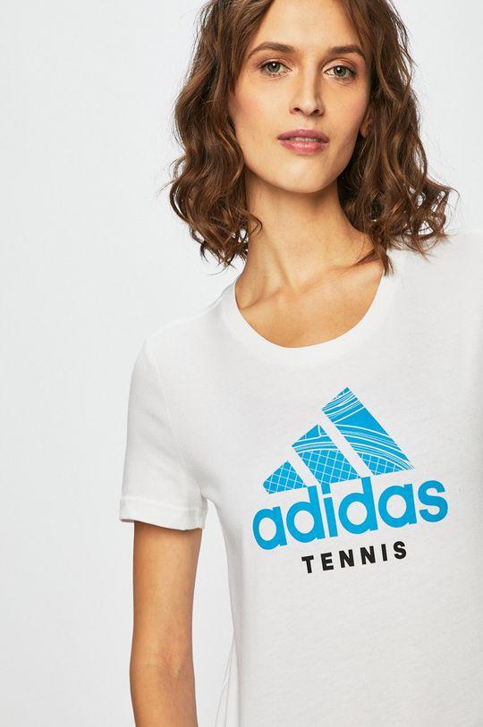 fehér adidas Performance - Top
