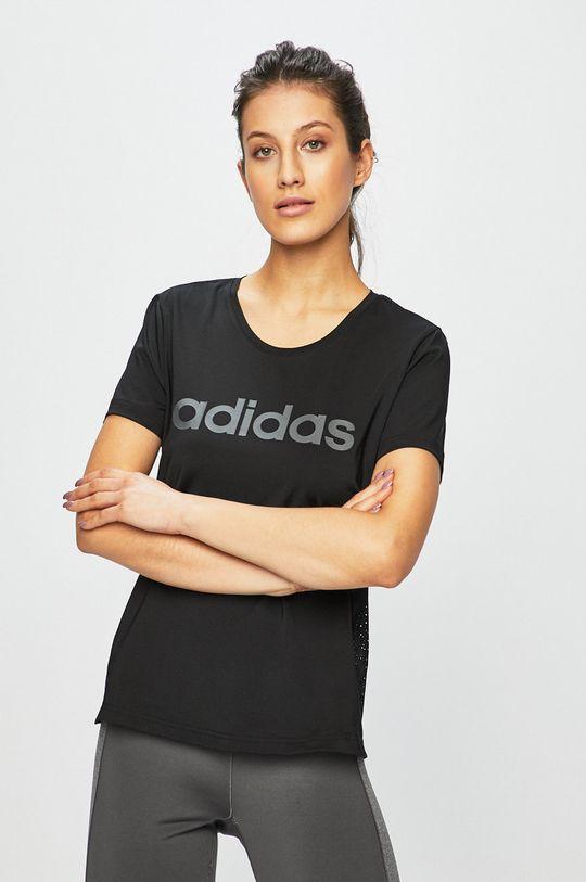 čierna adidas Performance - Top Dámsky