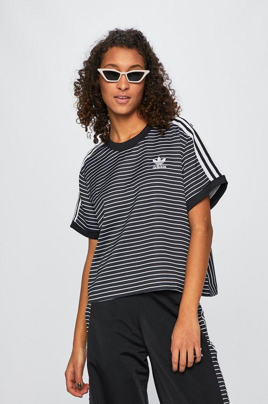 čierna adidas Originals - Top Dámsky