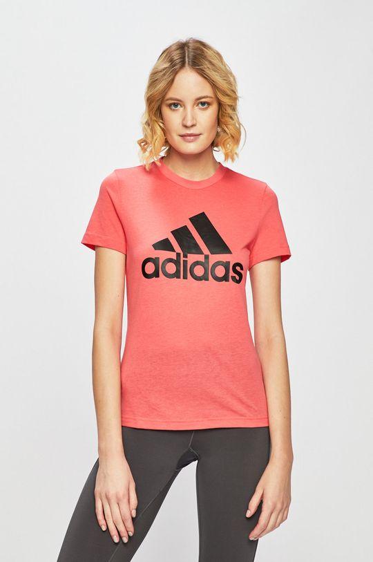 ružová adidas Performance - Top Dámsky