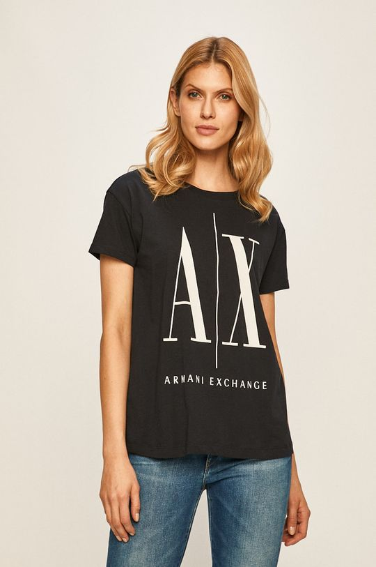 bleumarin Armani Exchange - Top De femei