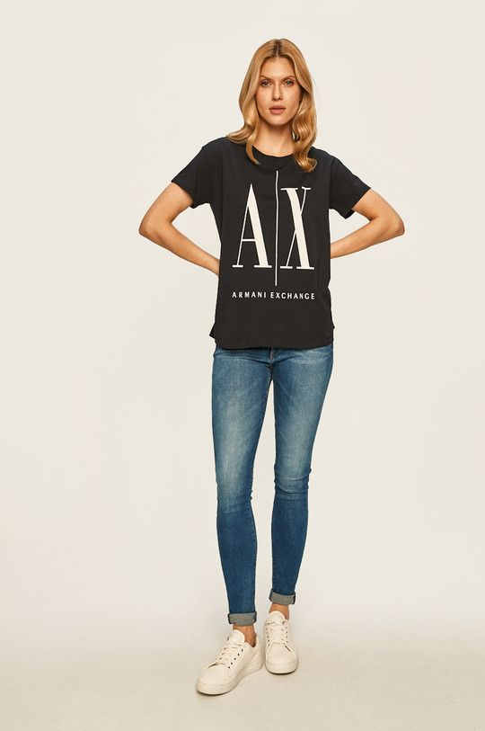 Armani Exchange - Top bleumarin
