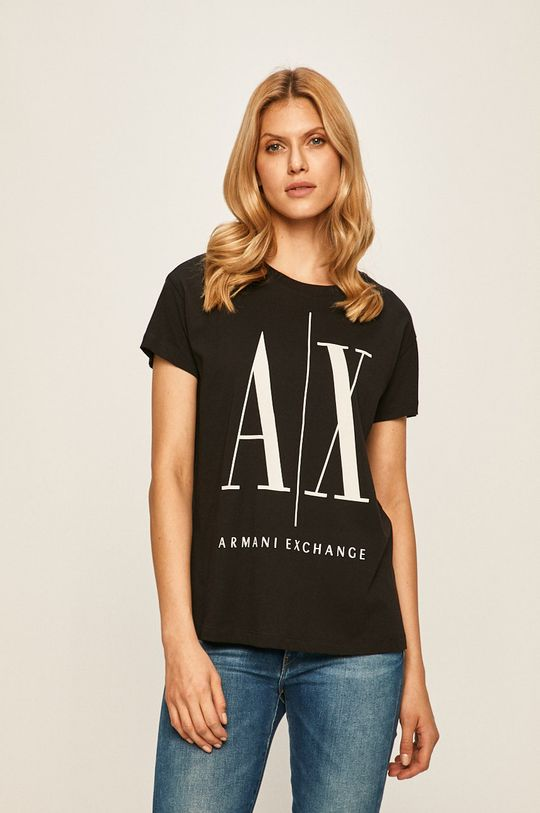 negru Armani Exchange - Top De femei