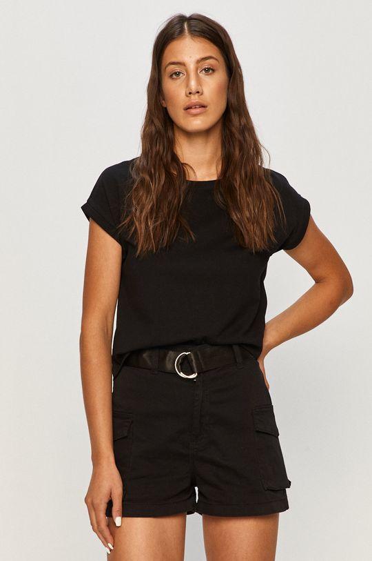 czarny Tally Weijl - T-shirt Damski