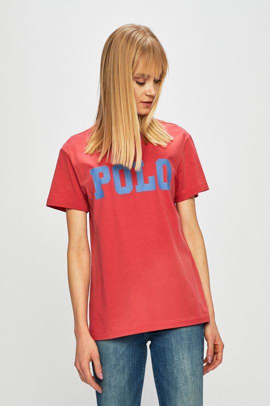 červená Polo Ralph Lauren - Top Dámský