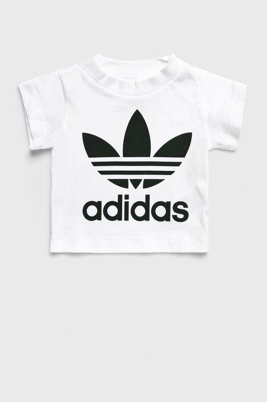 bílá adidas Originals - Dětský top 62-104 cm Dívčí