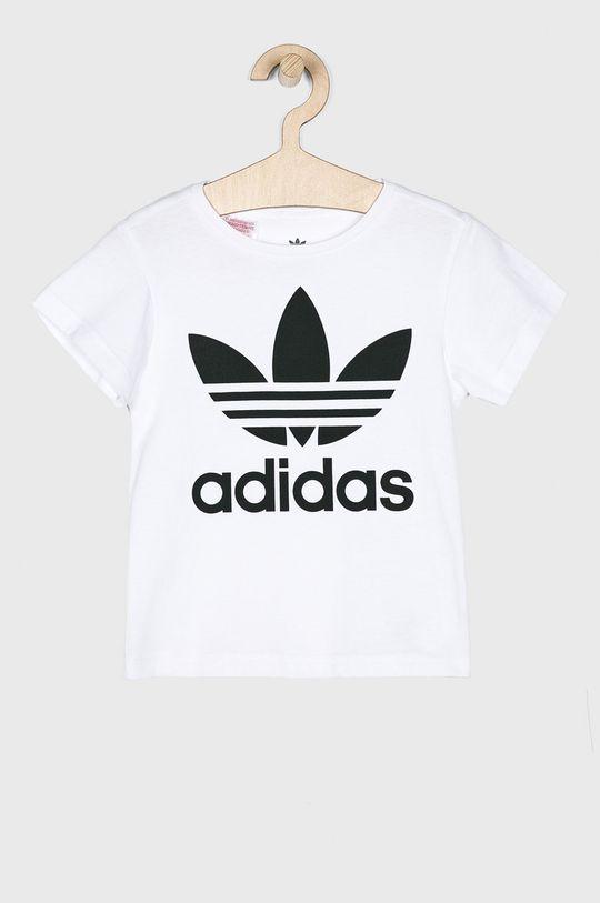 bílá adidas Originals - Dětský top 104-128 cm Dívčí