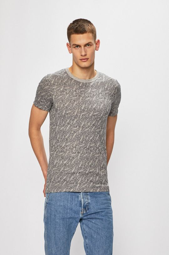 světle šedá Premium by Jack&Jones - Tričko Pánský