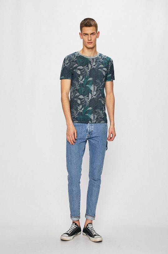 Premium by Jack&Jones - Tričko námořnická modř