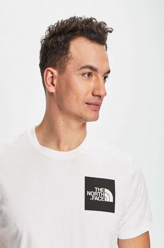 biela The North Face - Pánske tričko