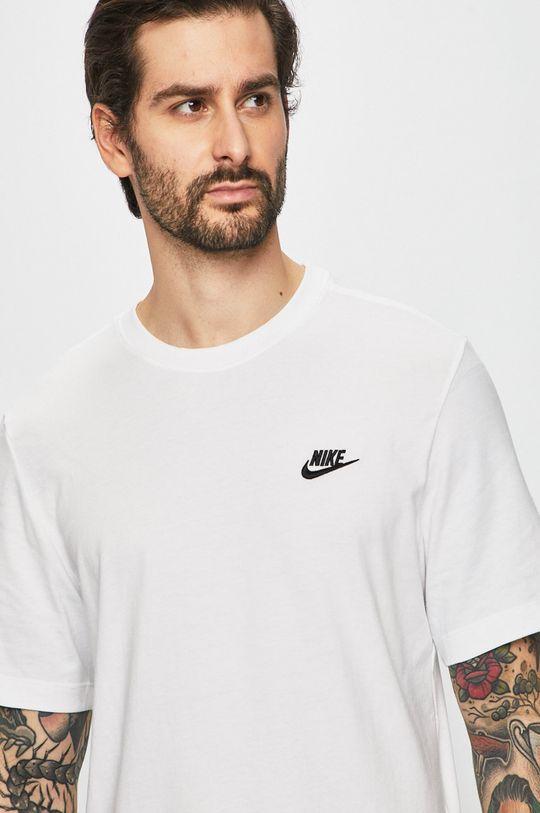 biały Nike Sportswear - T-shirt Męski