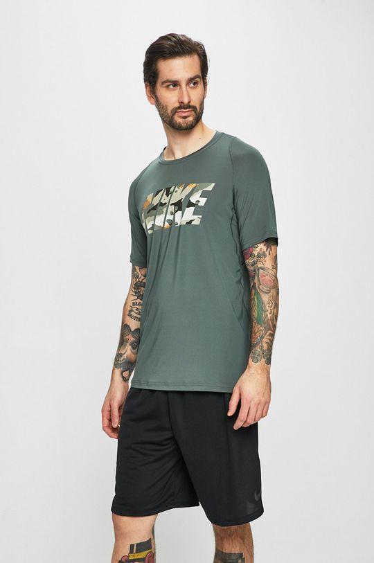 zelená Nike - Tričko Pánský