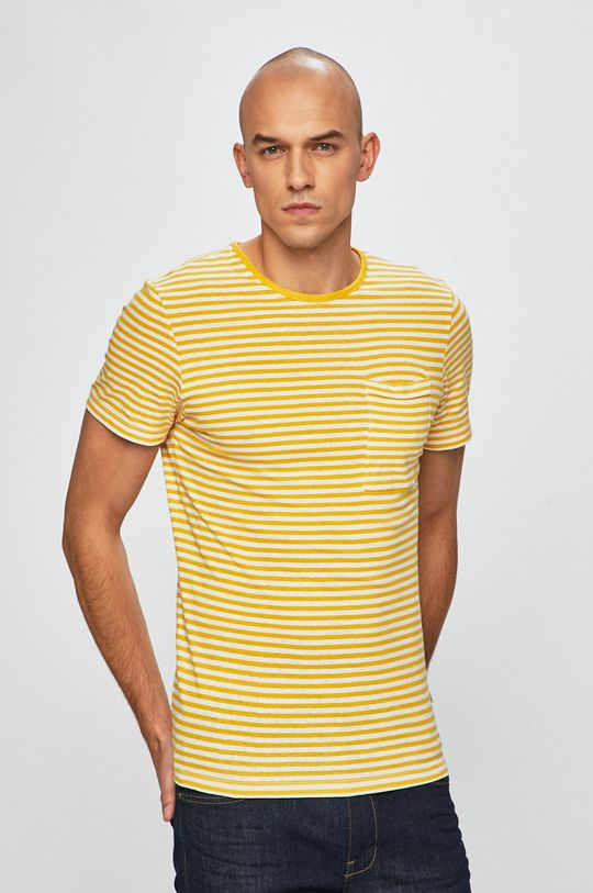galben Casual Friday - Tricou De bărbați