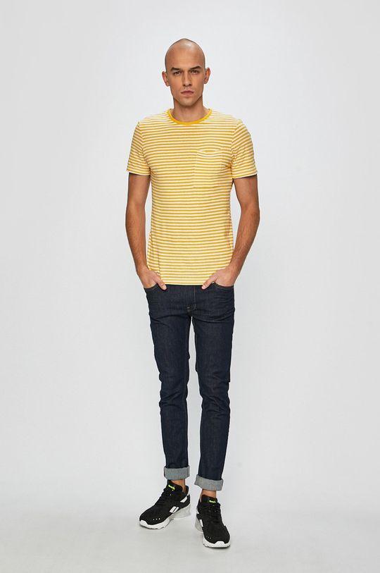 Casual Friday - Tricou galben