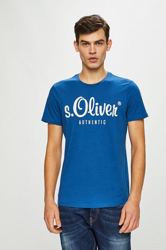 modrá s. Oliver - Pánske tričko