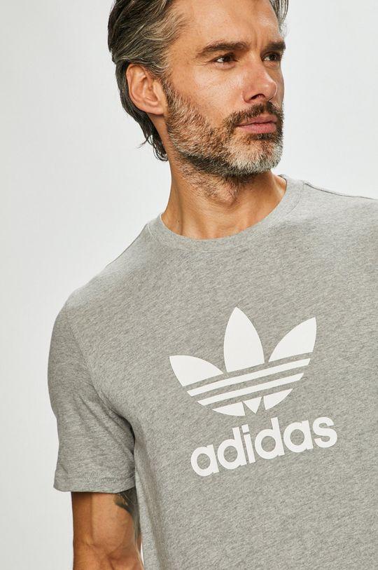 šedá adidas Originals - Tričko Pánský
