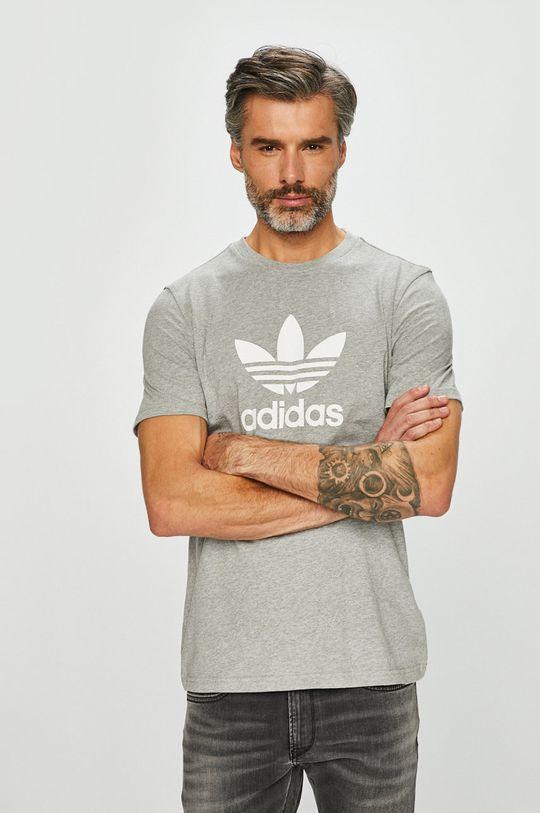 šedá adidas Originals - Tričko