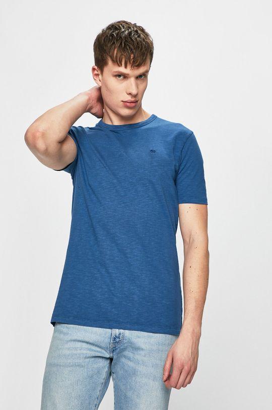 modrá Premium by Jack&Jones - Tričko Pánský