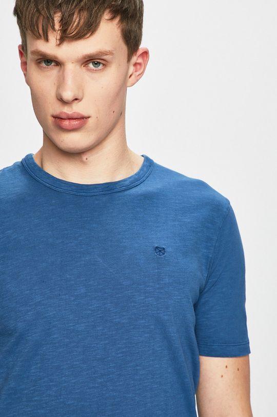 modrá Premium by Jack&Jones - Tričko