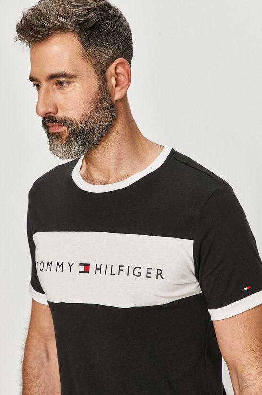 čierna Tommy Hilfiger - Tričko Pánsky