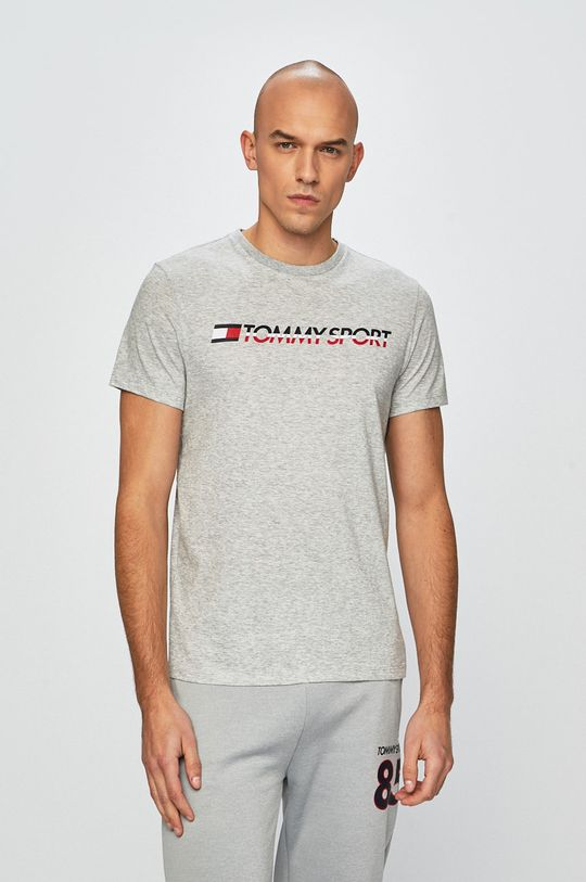 gri deschis Tommy Sport - Tricou De bărbați