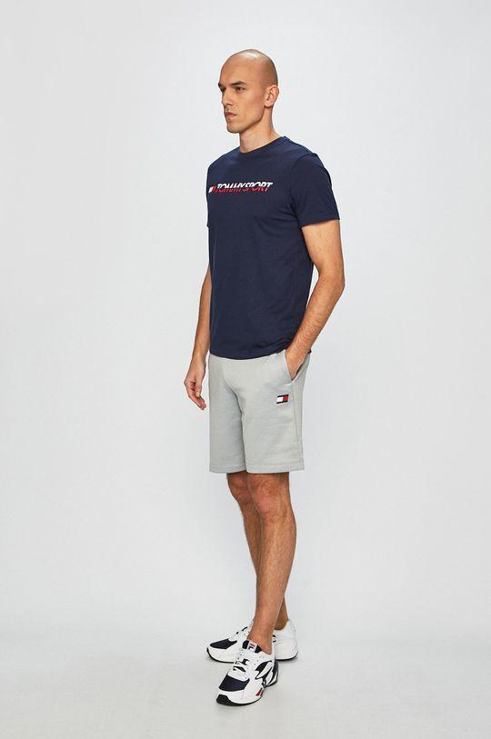 Tommy Sport - T-shirt granatowy