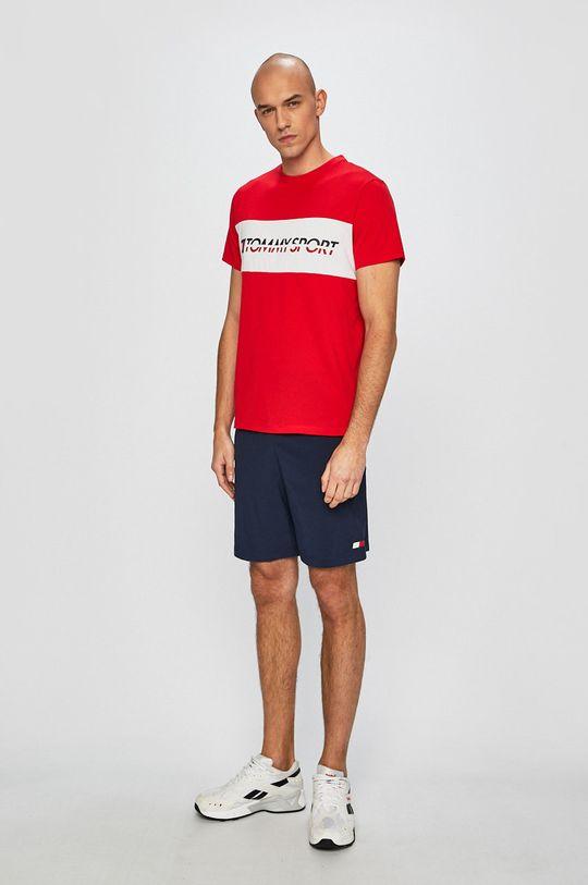 Tommy Sport - Tricou rosu