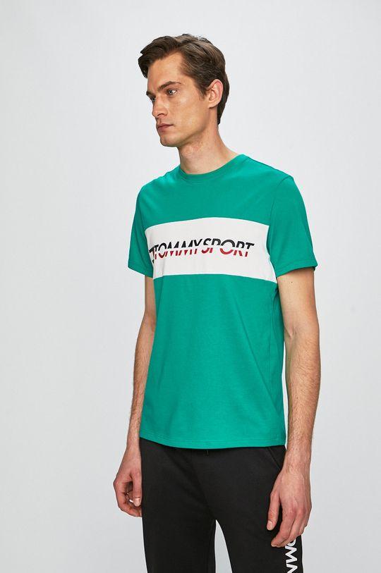 verde ascutit Tommy Sport - Tricou De bărbați
