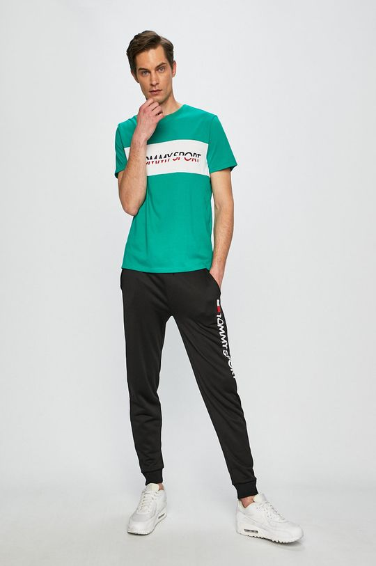 Tommy Sport - Tricou verde ascutit