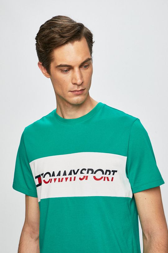 verde ascutit Tommy Sport - Tricou