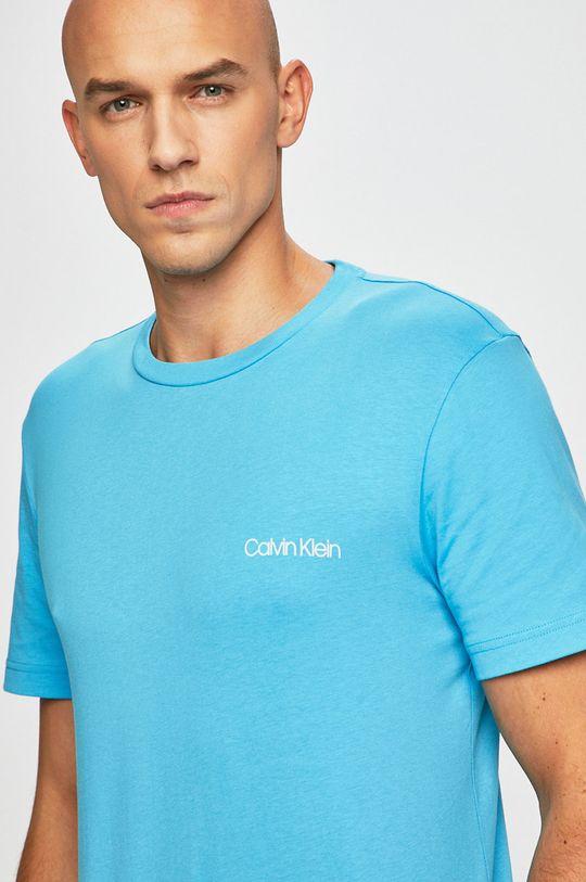 světle modrá Calvin Klein - Tričko Pánský